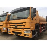 Quality High Pressure 4000 Gallon Water Truck , LHD 6X4 Construction Water Trucks wholesale