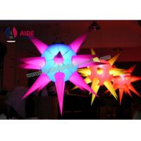 Quality 3D Colorful Inflatable LED Light , Concert Light Up Inflatables Multi Angle wholesale