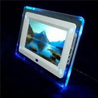 "Quality 7"" Rocking White Digital Picture Frame , Commercial Electronic Pictures Frames wholesale"