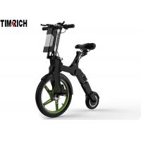 China TM-TM-D01   Aluminum Alloy Electric Scooter Bike , Foldable Electric Bicycle Max Speed 29KM/H on sale