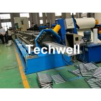 Quality Galvanized Steel Cable Tray Roll Forming Machine With 18 Stations Forming Roller Stand wholesale