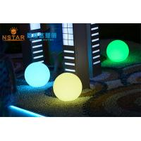Quality Ø40CM Dimension LED Outdoor Decorative Lights PE Plastic Material RoHS Certified wholesale