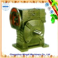 Quality Cast Iron Worm Parallel Shaft Gearbox Reduction Gear For Excavator wholesale