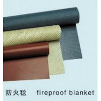 China Electric insulation silicone coated fiberglass cloth on sale