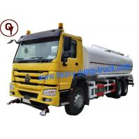Cheap China Heavy Duty Sprayer Water Truck 6x4 Drive Type with 20000 Liter Water Tank for sale