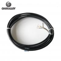 Buy cheap 4 Wires Silicone Rubber RTD PT100 Thermocouple Sensor Armored Cable For from wholesalers