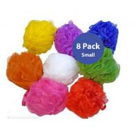 Quality Small Mesh Pouf Sponge (8 Pack) wholesale