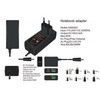 Cheap 19V 3.42A Mini 65w Universal Laptop Power Adapter With Usb QC2.0 QC3.0 Type-C for sale