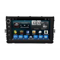 Quality OEM In Dash VolksWagen Dvd Gps Navigation System Glonass Android 9 Inch wholesale