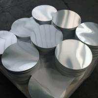 Quality Smooth Bright Surface Aluminum Disk Blanks / Round Aluminum Blanks ISO9001 wholesale
