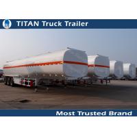 Quality 3 Axles 45000 liters 5 compartments fuel tanker trailer for oil transportation wholesale