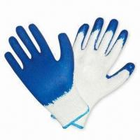 Quality Latex-coated Gloves with Excellent Grip wholesale