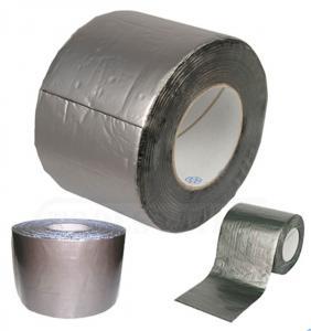 China Hatch cover flashing tape easy construction, Aluminium  Self adhesive bitumen flashing tape/ bitumen sealing tap on sale