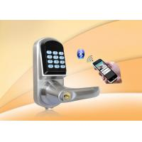 Quality Remote Controller, Password Safe Door Lock With Password Keypad, Key unlock, Low Voltage Alarm wholesale