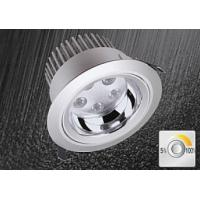 Quality Commercial 10W 40° Recessed LED Downlight 60Hz , 3000K Ceiling Downlight wholesale