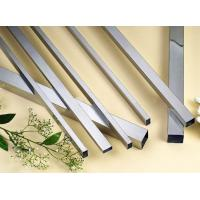 Quality DIN17007 1.4306 / 1.4301 Square Sanitary Stainless Steel Tubing with BA Surface wholesale