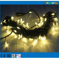 Quality Hot sale 127v warm white connectable fairy string lights 10m Christmas decoration wholesale