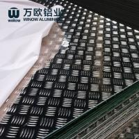 Cheap Aircraft Grade Aluminium Alloy Checker Plate Embossed Tread Sheet 1.0 - 5.0mm for sale