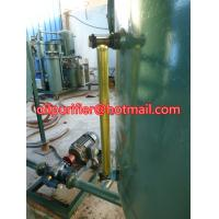 China used engine oil recycling machine ,black car oil vacuum distillation to yellow color on sale