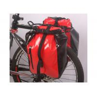 Quality Secure 3 Point Connection Mountain Bike Bag Waterproof Material Red Color wholesale