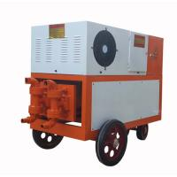 China Double Hydraulic and Cylinder Grouting Pump on sale