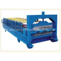 Quality 0.3mm - 0.8mm Color Steel , 12Mpa Roof Double Layer Roll Forming Machine wholesale