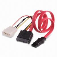 Quality SATA 7/6 PCB Side to 7-pin Cable, Side and B4P, Available in Slim Design wholesale