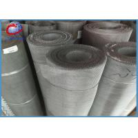 Cheap ASTM 304L Stainless Steel Screen Roll Anti Corrosion For Mining / Chemical / Food for sale