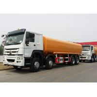Buy cheap SINOTRUK HOWO  8x4 Horsepower 371Hp Engine Oil Tank Truck , Oil Tanker Trailer 30m³ / H Pump Flow from wholesalers