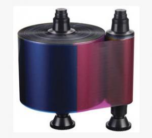 Quality Compatible Evolis R3013 1/2YMCKO Color Ribbon 400 prints/roll for Evolis Pebble wholesale