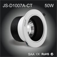 China Fire Proof safe LED downlight 50w cob led downlight Sliver water proof,IP54 ,IP65 availabl on sale