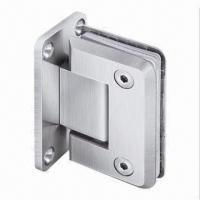 China 90° Door Hinge/Wall to Glass Offset Back Plate, Made of Stainless Steel with PSS/SSS/TI Finish on sale