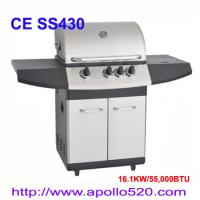 China Outdoor Stainless BBQ Gas Grill on sale