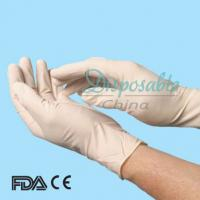 China Sterile disposable latex surgical glove, cheap disposable latex surgical glove on sale