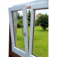 Quality Single-hung UPVC Window , Powder Coating For Commercial Building wholesale