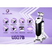 Quality Body Shaping Ultrasonic Slimming Machine Face Thinner 2 Fat Freeze Handles wholesale
