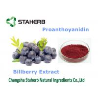 Quality Bilberry Extract Antioxidant Food Supplements Dark Purple Fine Powder wholesale
