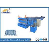 Quality Building Material Roofing Sheet Roll Forming Machine Double Deck 0.3-0.8mm Thickness wholesale