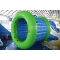 Quality 0.9mm PVC Tarpaulin Inflatable Water Walking Roller Ball With Durable Net Structure wholesale