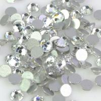 Quality 12 - 14 Facets Low Lead Rhinestones Extremely Shiny Environmentally Friendly wholesale
