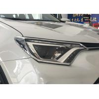 Cheap TOYOTA RAV4 2016 2017 New Auto Accessories Car Head Lamp Covers And Tail Lamp Molding for sale