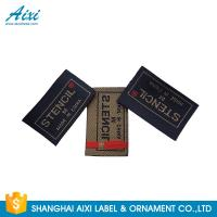 Quality Clothes Brand Woven Clothing Label Tags , Customized Garment Private Lable wholesale
