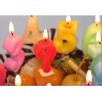 Quality Newest style hot selling flameless number birthday candle handmade candles wholesale
