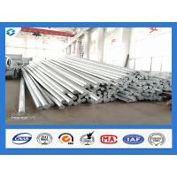 Quality Philippines Nea Standard Q345 40FT Hot Dip Galvanized Power Line Steel Pole wholesale