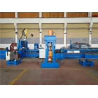 Quality 1000mm Big light pole close and straightening machine for transmission tower wholesale