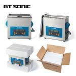 Quality 40KHz 6L Digital Control Parts Ultrasonic Cleaner , Heated Ultrasonic Washer 150W wholesale