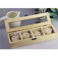 Quality Wooden Soap Boxes With Transparant Cover wholesale
