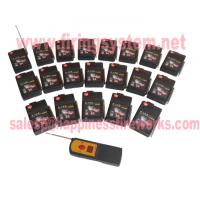 Quality 20 channels/cues 500m wireless remote control sequential & salvo fireworks firing system(DBR05-X1/20) wholesale
