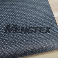 Quality carbon fiber fabric with silvery glitter twill wholesale