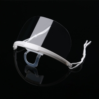 Quality Lightweight Droplets Prevention Transparent Plastic Face Mask wholesale
